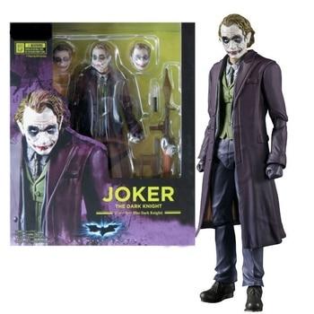 15cm Joker The Dark Knight Batman Action figure toys doll Christmas gift with box