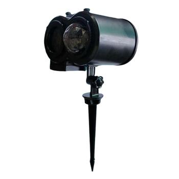 Lampa projektora LED zewnętrzne oświetlenie bożonarodzeniowe wodoodporna z pilotem do domu ogrodowego Xmas walentynki wesele imprezy tanie i dobre opinie homyl CN (pochodzenie) Mini Projector Light 220 v Domowej rozrywki