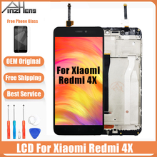 цены на AAAA Original LCD For Xiaomi Redmi 4X Screen Display Digitizer Assembly Replacement LCD For Xiaomi Redmi 4X Pro Prime Screen  в интернет-магазинах