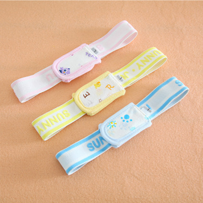Adjustable Diaper Fixed Belt For Newborn Baby Boys Girls Cotton Soft Elastic Cartoon Nappy Belt Baby Care Accessories