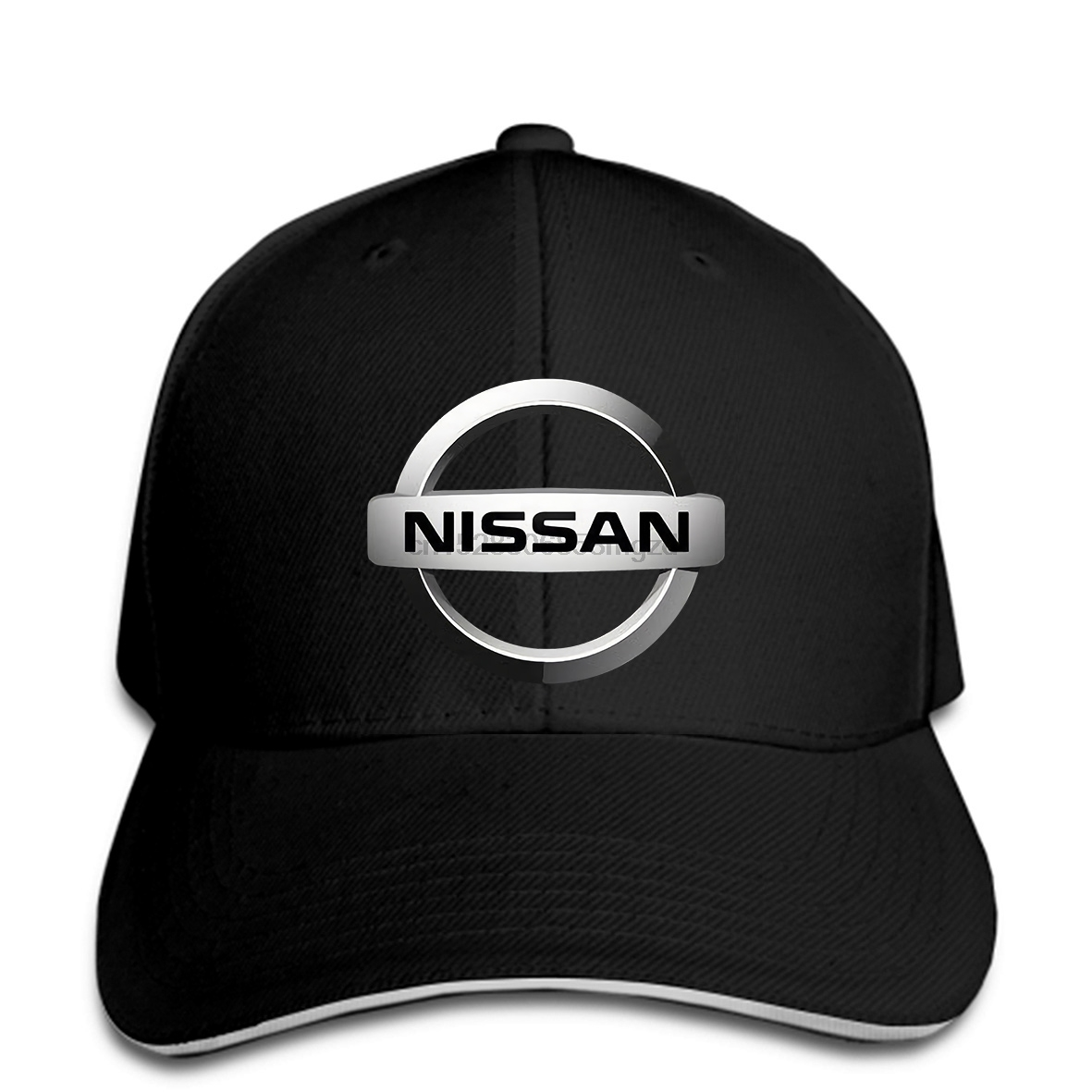 Nissan Logo Automotif Cars Men Baseball Cap Black New Snapback Cap Women Hat Peaked