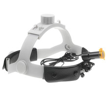 Medical Headlight 5W LED Medical Headlamp Dental Surgical Medical Headlight with Filter  Rechargeable Battery