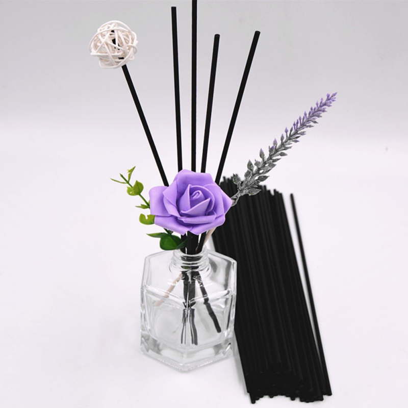 100Pcs Natural Reed Fragrance Aroma Oil Diffuser Rattan Sticks Perfume Volatiles For Home Decoration New