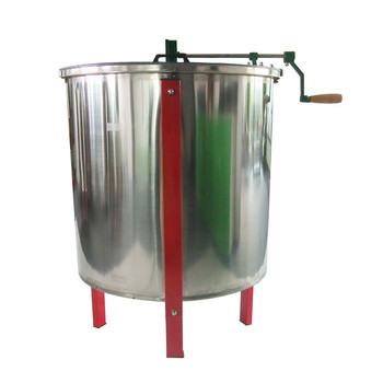 6 Frames Manual Control Honey Extractor Apiary Centrifuge Honey Bucket Beekeeping Tools High Quality Stainless Steel image