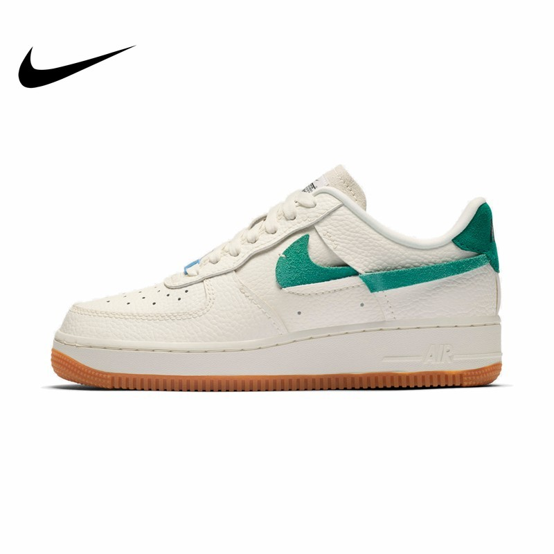 NIKE Air Force 1 Skateboarding Shoes Men Women Lightweight Comfortable Unisex Sneakers BV0740-100 Original 2019 New Arrival Hot