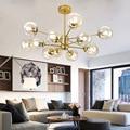 LukLoy Новая современная люстра для гостиной  спальни  Подвесная лампа  подвеска для столовой  ресторана  кафе  E27  винтовые светильники