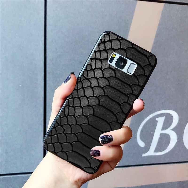 Babaite נחש עור אמנות מקרה טלפון עבור Samsung Galaxy S10E S7 קצה S9 S8 S10plus S6 S10Lite