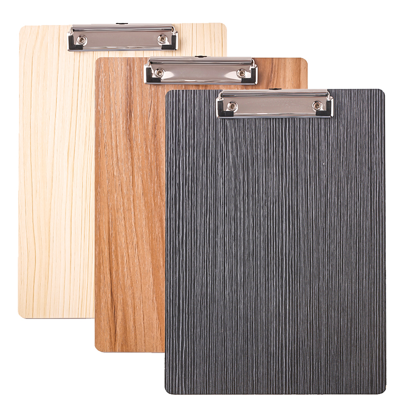Wood A4 A5 Clipboard Maple Writing Pads Exam Clip Board Office School Supply Thing Item Folder Paper Desk Stationery Accessory
