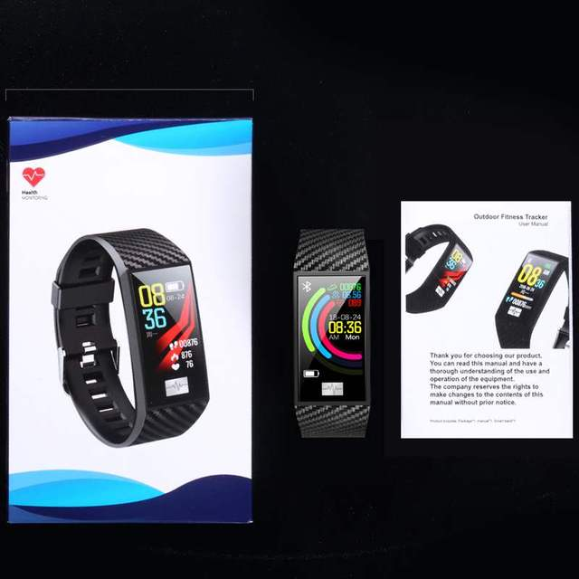 DTNO.1 DT58 Pro 24 Hour Temperature Monitor Wristband Fitness Track Weather Altitude Outdoor Health Smart Watch for Women Men