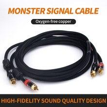 Oi-end, alta fidelidade, rca, cabos de áudio com plugue , cabo de áudio