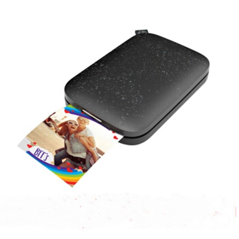 MINI Pocket Photo Printer Mobile Phone Bluetooth Portable Printer Mini HP Sprocket200 Sprocket100 For Hp ZINK Photo Paper No Ink
