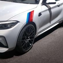 Наклейка для кузова автомобиля, двухсторонняя декоративная наклейка для BMW M3, M5, M6, X1, X3, X5, E34, E39, E36, E60, E90, E46