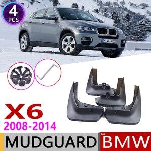 Image 1 - Front Rear Mudflap for BMW X6 E71 2008~2014 Fender Mud Guard Flap Splash Flaps Mudguards Accessories 2009 2010 2011 2012 2013