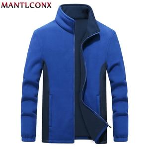 Image 4 - MANTLCONX M 9XL Fleece Jacket Men Large Size Jacket Coat Men Outerwear Big Size Outdoor Warm Jackets and Coats for Men Winter