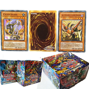 288pcs/set Anime Yu Gi Oh English Game Cards Carton Yugioh Game Cards Boy Girls play Cards Collection With Box toy gift