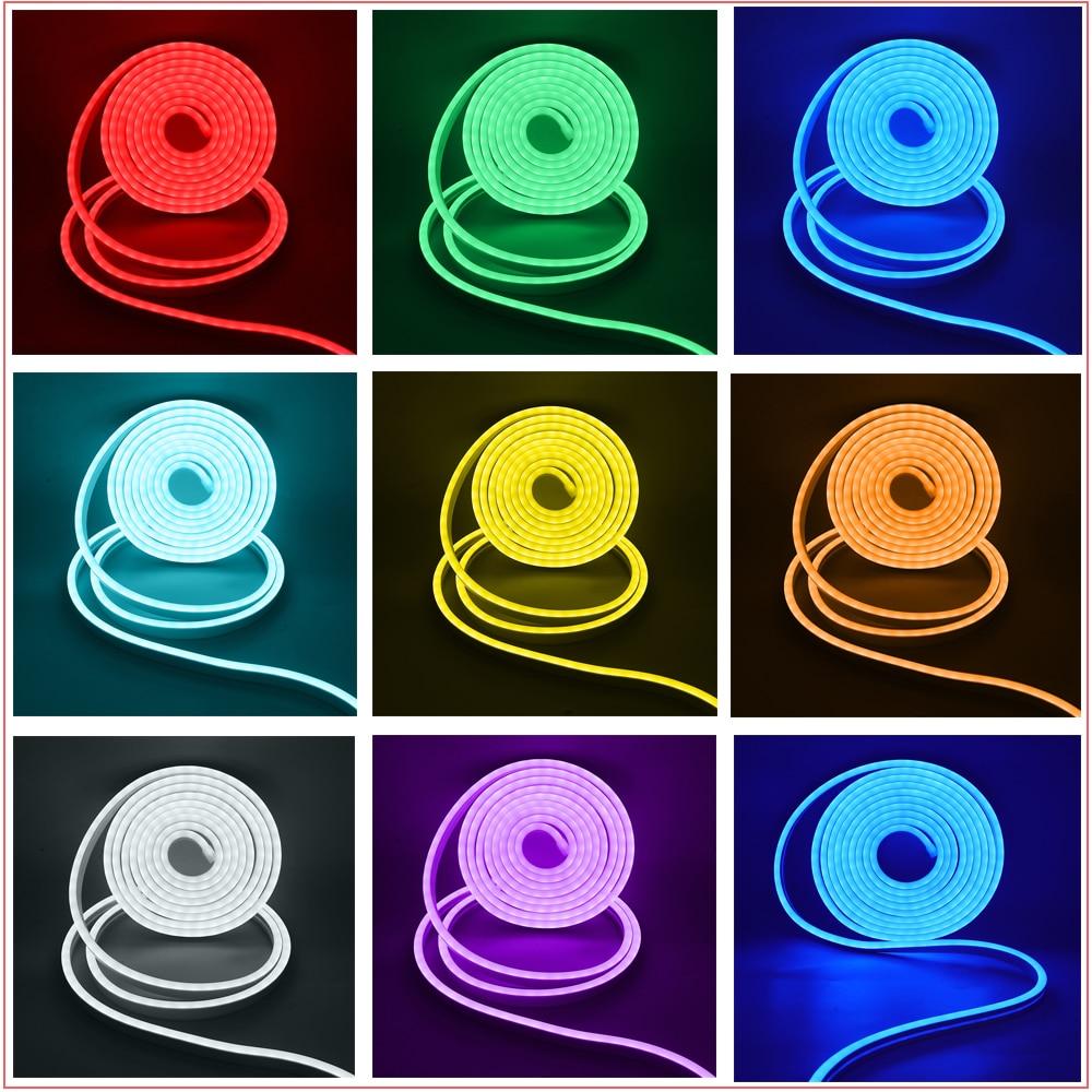 música led neon corda lâmpada à prova