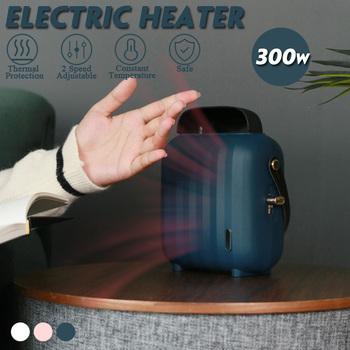 Mini podgrzewacze elektryczne przenośne wentylatory biurowe grzejniki elektryczna domowa ogrzewacz powietrza ciche konwektorowe grzejniki ręczne prezenty tanie i dobre opinie becornce Łazienka Convector heater 800 w Pulpit Wolnostojące as show Electric Heaters Brak 20㎡ 220 v 10㎡