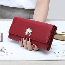Brand New Women Wallets PU Leather Purse Long Phone Wallet L