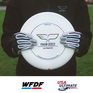 Yikun Professional Ultimate Flying Disc Certified by WFDF For Ultimate Disc Competition Sports many colors175g YIKUN