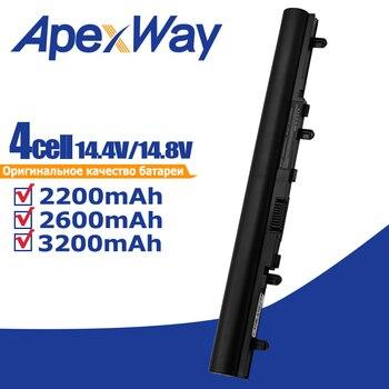 Apexway-Batería de ordenador portátil para Acer Aspire V5 171, V5-431, V5-471, V5-531,...