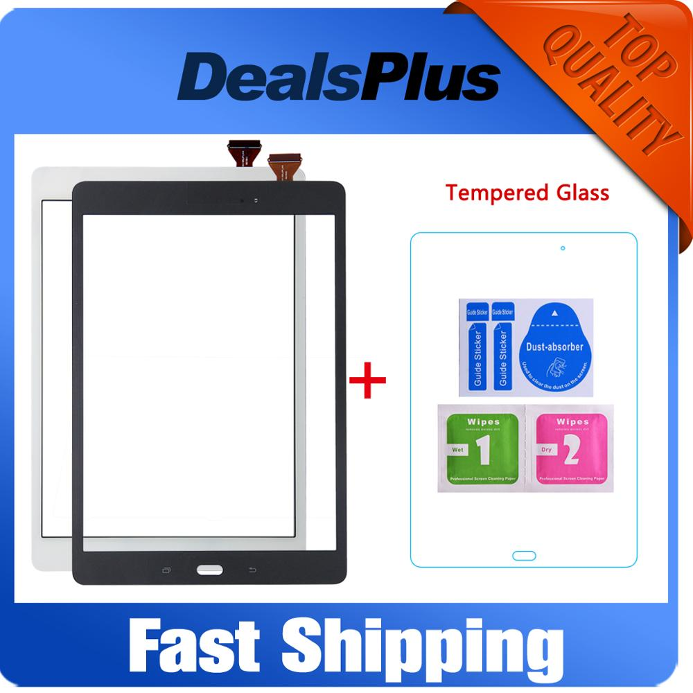 Replacement New Touch Screen Digitizer Glass For Samsung Galaxy Tab 9.7 SM-T550 T550 White Black