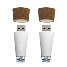 LED Rechargeable Shiny Bottle Cap Cork Stopper Cap Lamp Romantic Cork Lights Festive Atmosphere Lights