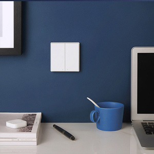 Image 2 - Aqara Smart Wall Switch D1 Zigbee Wireless Remote Control Key Light Switch Neutral Fire Wire Triple button For Mijia smart home