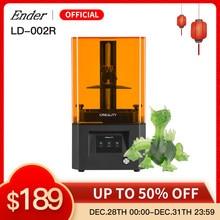 LD-002R 3D Stampante LCD Resina Stampante 3D KIT Touch Screen Off-Line di Stampa Impresora Resina CREALITY 3D