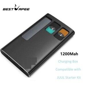 Jmate, funda de cargador para JUUL001, Kit de iniciación, cigarrillo electrónico 1200mah, caja de carga portátil PCC VS DUO, estuche de carga E vape