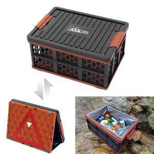 Basket Folding Camping-Bucket Storage-Box Water-Tank Plastic Multifunctional Outdoor