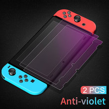 Защитное закаленное стекло mod x 2 шт 9h для nintendo switch