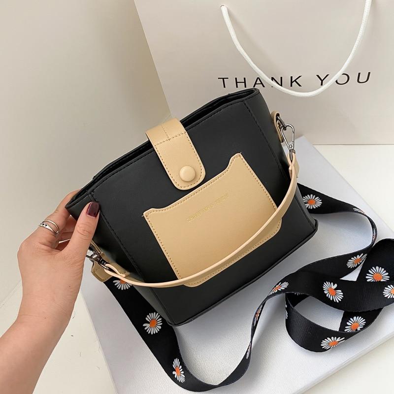 Women's bag Handbags for women 2020 Shoulder fake designer black ibiza style Crossbody bucket mini sac fashion brand clear purse