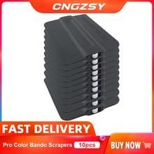 10PCS Pro Tint Bondo Squeegee Magnetic Holder Decal Sticker Vinyl Car Wrap Applicator Scraper With Magnet Window Tint Tool 10A19