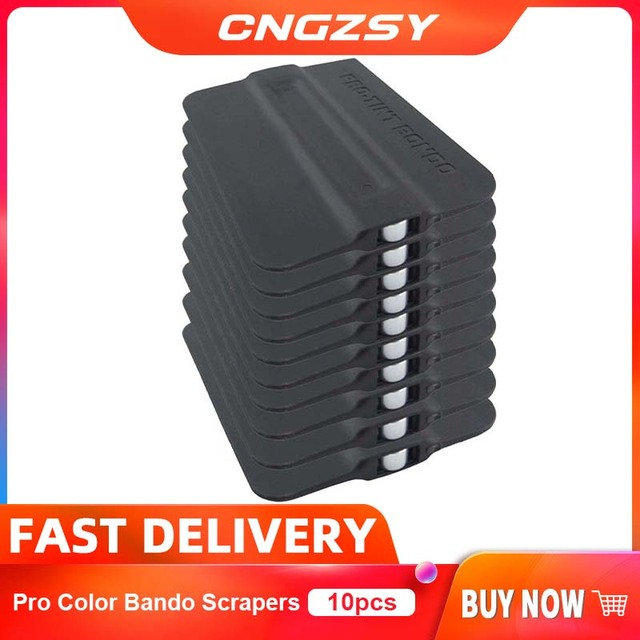10PCS Pro Tint Bondo ไม้กวาดผู้ถือแม่เหล็กรูปลอกสติกเกอร์ไวนิลรถ Wrap Applicator ขูดแม่เหล็กหน้าต่างเครื่องมือ 10A19
