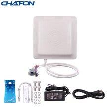 CHAFON lettore rfid uhf antenna integrata 7dBi long range 0 ~ 6m con RS232 RS485 WG26 TCP/IP opzionale per parcheggio SDK gratuito