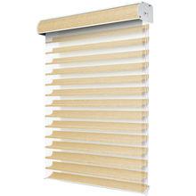 Luxury transparent shangri la roller blinds custom top down