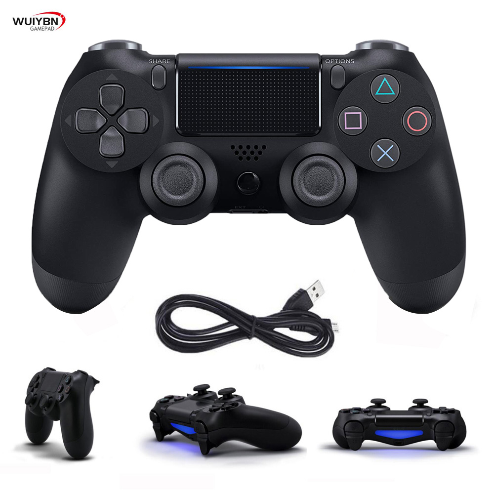 PS4 controlador Bluetooth Gamepad para DualShock 4 controlador inalámbrico para SONY PlayStation Pro/Slim/PC/Android/IOS/iPad Joystick Apple iPhone 6S iOS Dual Core 4G LTE desbloqueado teléfono móvil 4,7