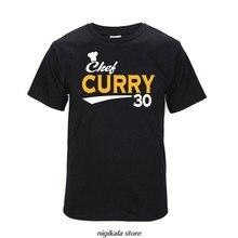 T-shirts de manga curta de algodão engraçado do chef t camisa casual solta hip hop carta t