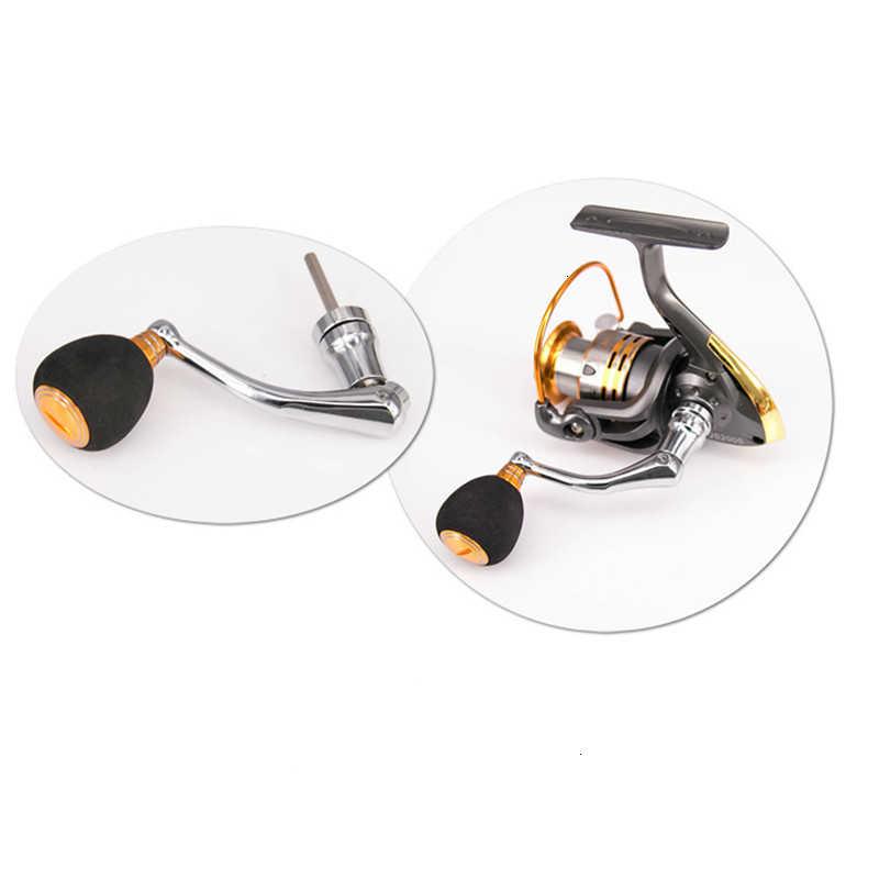 Black BESPORTBLE Fishing Reel Handle Knob Metal Spinning Reel Handle Power Knob Fishing Spinning Reel Rocker Arm Grip for Fishing Reel Replacement Part