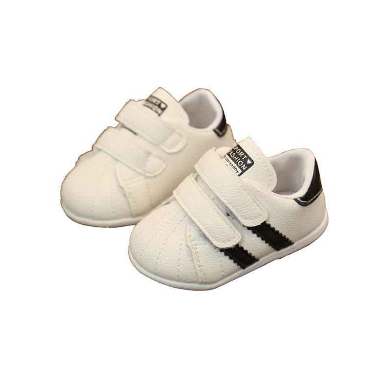 Autumn Baby Toddler Shoes Soft Bottom Baby Casual Shoes Non-slip Breathable Small White Shoes
