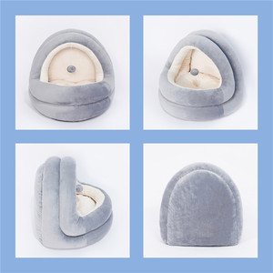 Image 3 - High Quality Cat House Beds Kittens Pet Cats Sofa Mats Cozy Bed Toy Dog for Small Kennel Home Cave Sleeping Nest Indoor Products