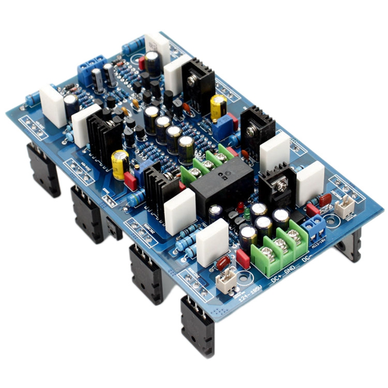 AB18 2SA1943 / 2SC5200 High Power 300W + 300W Dual Channel Power Amplifier Board