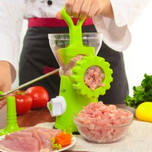 цена Kitchen Manual Meat Grinder Sausage Machine High-quality Multifunctional Household ABS Shell Stainless Meat Mincer Meat Cutter в интернет-магазинах