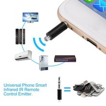 Universal Mobile Phone Smart Infrared IR Remote Control Emitter Portable Mini Size TV STB DVD Control For Mobile Phone(China)