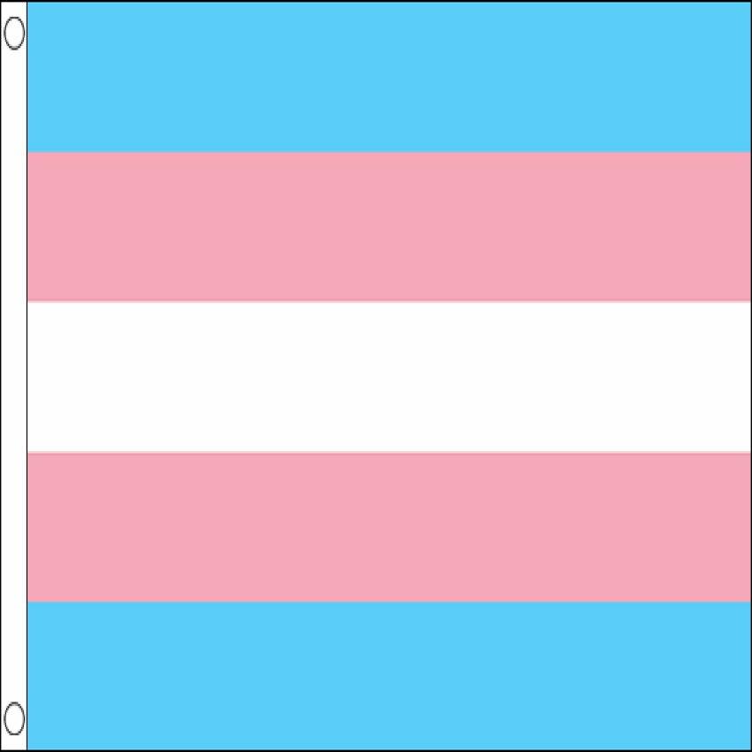Transgender purple Gay Pride Large Flag 5/' x 3/'