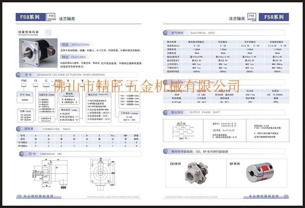 1024ppr 15 мм сплошной вал ip65 инкрементный поворотный dc5v