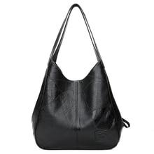 SMOOZA 2020 New Vintage skórzane luksusowe torebki damskie torebki designerskie torby znanych marek kobiet torby pojemna torba Tote bag Sac
