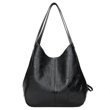 SMOOZA 2020 새로운 빈티지 가죽 럭셔리 핸드백 여성 가방 디자이너 가방 유명 브랜드 여성 가방 대용량 토트 백 Sac