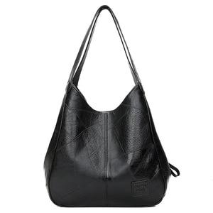 Image 1 - SMOOZA sacs à main Vintage en cuir pour femmes, sacoches de luxe de marque célèbre, Sac de grande capacité, fourre tout, nouvelle collection 2020