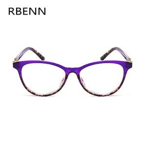 Image 2 - RBENN Cat Eye Reading Glasses Women Blue Light Blocking Presbyopia Eyeglasses for Female Anti Blue Rays Reading Glasses +1.75